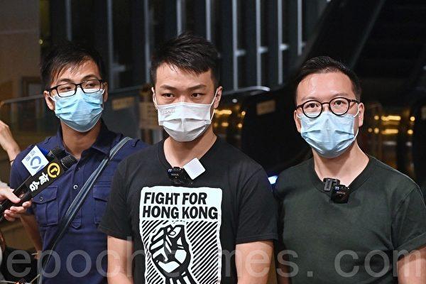 組圖:香港民陣申請十一遊行上訴失敗