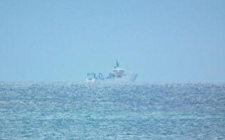 台湾海军军舰严密监控 共军情报船南移后消失