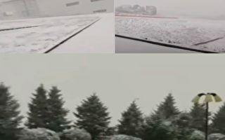 内蒙古赤峰市降雪 气象人员:近三年未见
