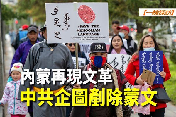 【一线采访视频版】内蒙再现文革 中共欲铲除蒙文