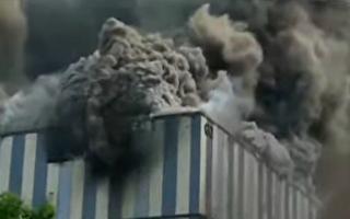【視頻】華為東莞實驗室著火 至少3死