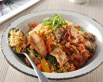 另类韩式炒饭!泡菜猪五花炒花椰菜米