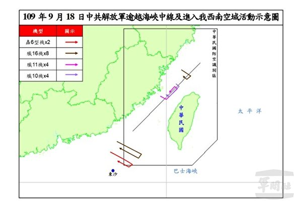 中共称无海峡中线 遭台外交部长驳斥