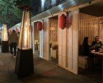 法拉盛餐館戶外用餐 為入冬生意做準備