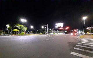 嘉市府于9处大型路口增设高灯 让夜路更明亮