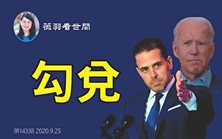 """【薇羽看世间】拜登及其儿子在""""勾兑""""?"""