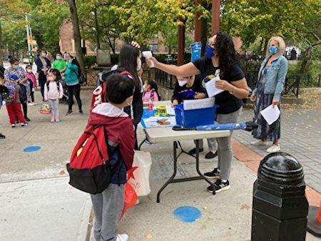 小學生新學年返校首日  紐約染疫陽性率超3%