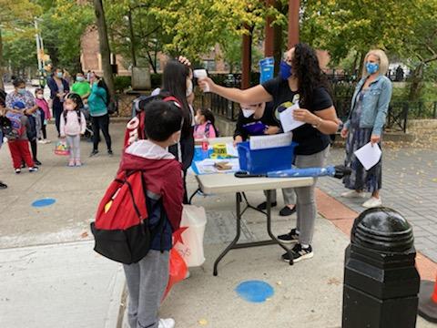 小学生新学年返校首日  纽约染疫阳性率超3%