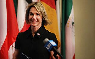 美驻联合国大使将访台 府:诚挚欢迎