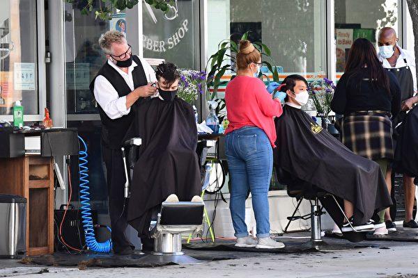 聖地亞哥縣更新衛生令 理髮需留名