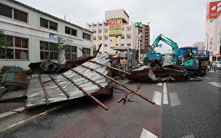 组图:海神台风袭击日本 政府劝800万人撤离