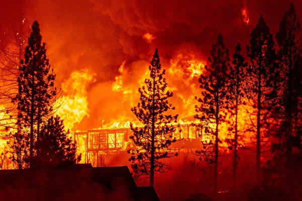 高温及大风 加州野火带来前所未有灾难