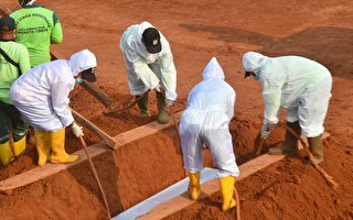 印尼防疫奇招 不戴口罩被罚为病故者挖坟墓