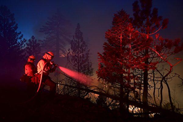 山猫野火焚毁52建筑 控火线倍增至38%