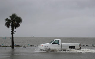 飓风莎莉逼近美墨西哥湾沿岸 或致洪水泛滥