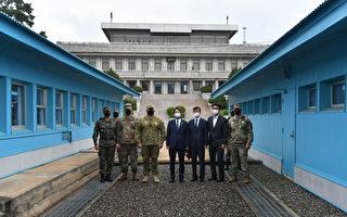 组图:韩统一部长访板门店 吁朝鲜恢复沟通