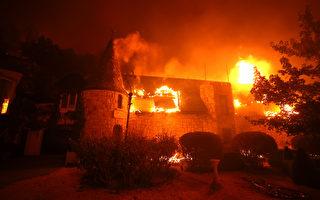 北加州酒鄉大火 多處酒莊損失慘重