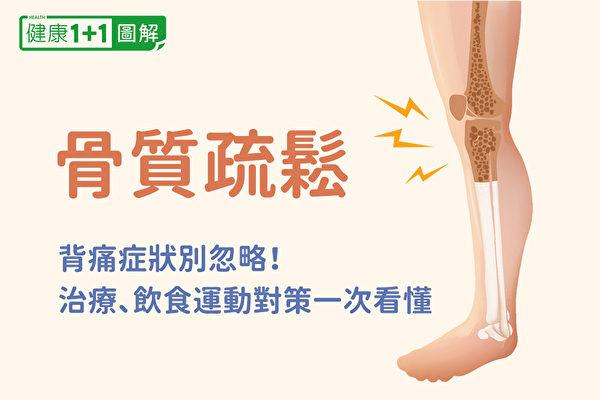 骨质疏松症状有哪些、如何治疗?怎样通过饮食和运动预防?(健康1+1/大纪元)