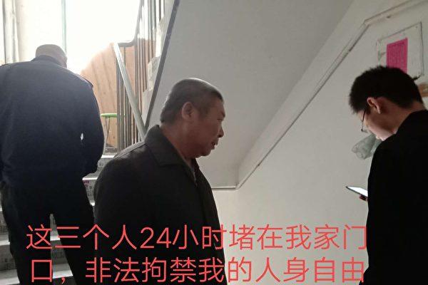 无锡访民被非法拘禁64天 家中断粮断药