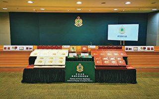 香港海关检约340盒冒牌月饼拘捕四人