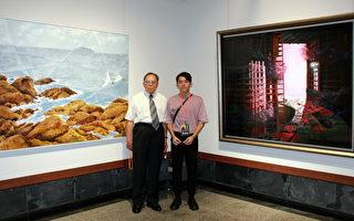 全國百號油畫大展  陳柏凱「光照的陷阱」榮獲首獎