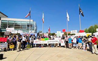 反对16号提案 苗必达民众集会及汽车游行