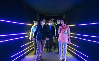 2020台灣設計展在新竹 蔡英文率先體驗
