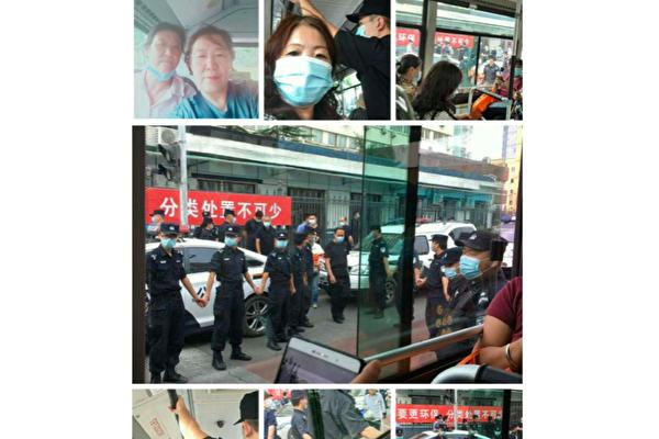 【一线采访】北京四十多位访民申请游行遭抓捕