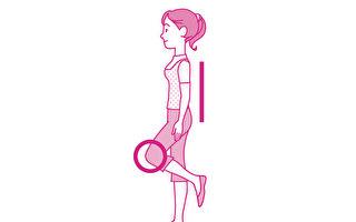 """单脚站立又称""""动态火鹤疗法"""",是能锻炼骨骼、预防骨质疏松症的体操。(世茂出版提供)"""