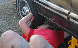 義犬狂吠 救下压在车下的美喬州男子