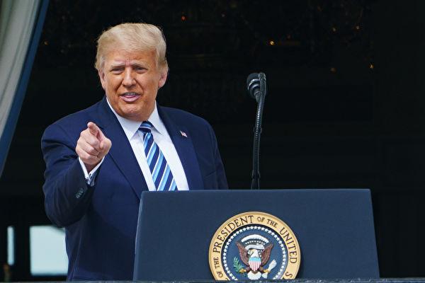 川普:美國最大的敵手是中共
