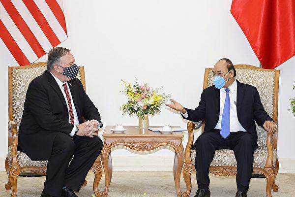蓬佩奧訪問越南 擬攜手打造印太安全