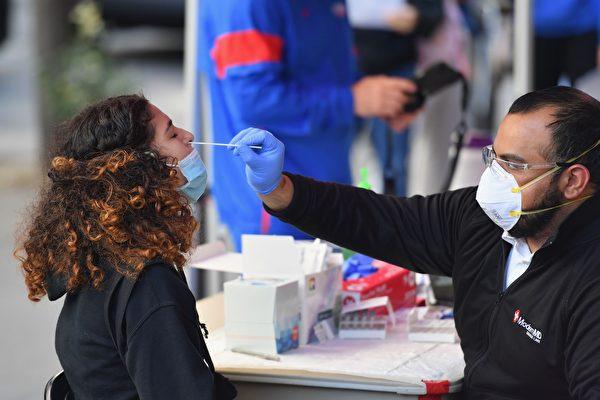 紐約州確診率和住院人數小幅增加