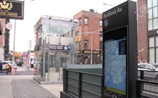 纽约地铁L线12车站竣工 新设施亮相