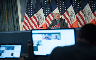 纽约市长白思豪承认与犹太社区需更多对话