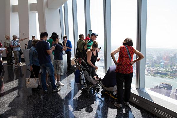 紐約世貿觀景台 宣布11月重開