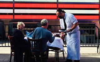 纽约时代广场年度美食节 餐厅位置影响人气