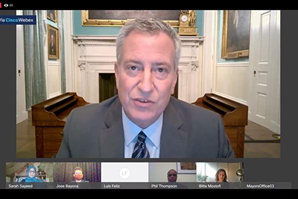 紐約市長鼓勵少數族裔投票