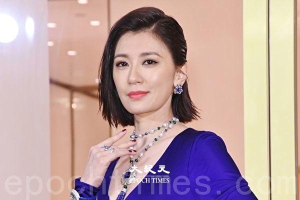 贾静雯戴上亿元珠宝亮相 庆46岁许愿疫情快结束