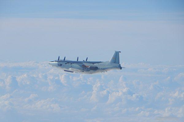 中共軍機再侵入台灣空域 3天內5度被驅離