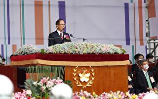 无惧强权打压 游锡堃赞:做台湾人真幸福