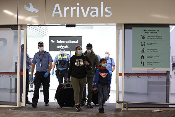 悉尼国际机场入境出口