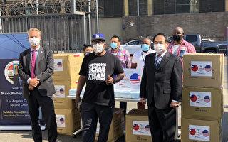 经文处捐赠3.5万片口罩予洛县第二区及医疗人员