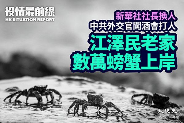 【役情最前线】江泽民老家数万螃蟹上岸