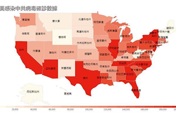 【最新疫情10.1】美國27州病例呈上升趨勢