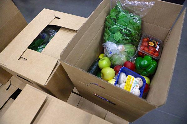 美农业部再投5亿 送出第4轮疫情食品盒
