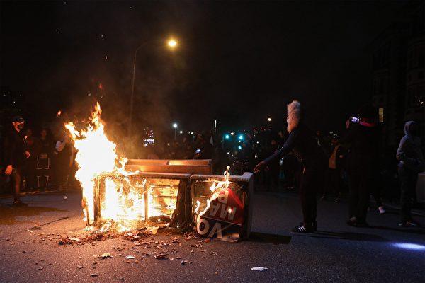 費城動亂持續數日 州長派遣國民警衛隊