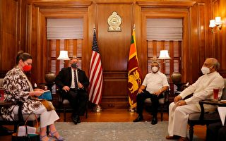 蓬佩奥访问斯里兰卡:中共是掠夺者