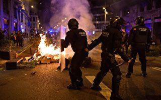 【最新疫情10.30】巴塞罗那民众抗议封锁