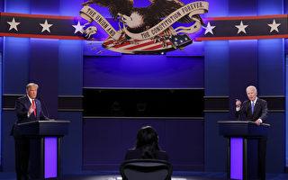 川普與拜登終場辯論 引發加州選民熱議